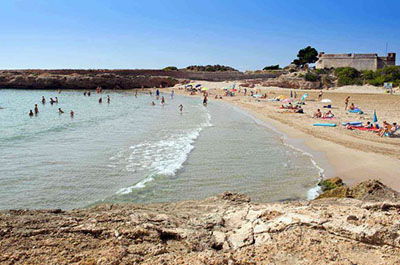 Beach Saint Jordi South Costa Dorada - El Figueral Rural Tourism Spain