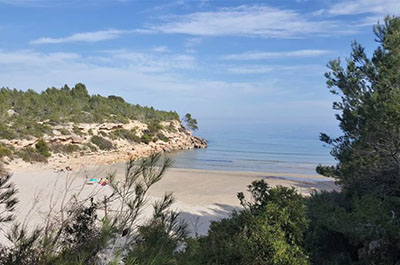 Coves Beach Costa Dorada - El Figueral Rural Tourism Spain