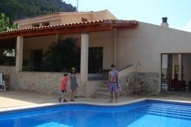 El Figueral Pool - El Figueral Rural Tourism Spain