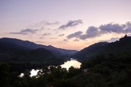 El Figueral River Ebro Sun Set - El Figueral Rural Tourism Spain