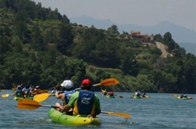Kayaking - El Figueral Rural Tourism Spain