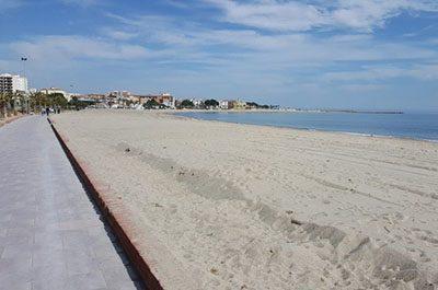 Hospitalet Beach North Costa Dorada - El Figueral Rural Tourism Spain