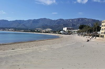 Hospitalet Beach South Costa Dorada - El Figueral Rural Tourism Spain