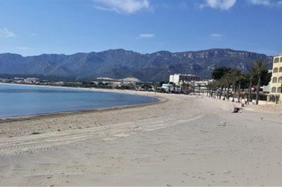 Hospitalet Beach South Costa Dorada - El Figueral Rural Tourism Spain