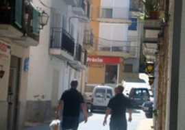 Off to the supermarket in Benifallet