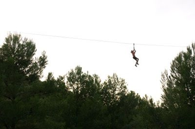 Zip Line - El Figueral Rural Tourism Spain